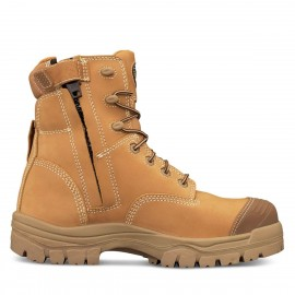 OLIVER 150 MM ZIP SIDE  BOOT WHEAT