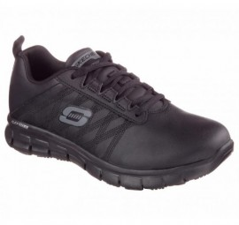SKECHERS , SURE TRACK BLACK
