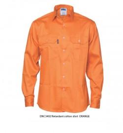 DNC 3402 Patron Saint® Flame Retardant Drill Shirt, Long Sleeve