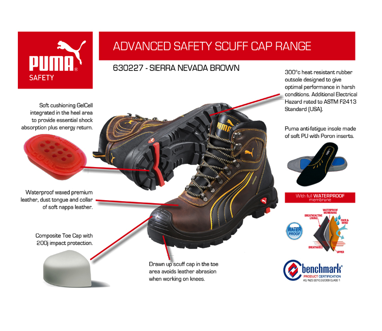 puma safety work boot - WorkGearSelect Totally Workwear b88a808bb